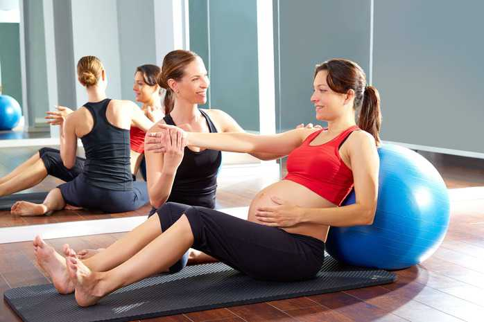 fitness pregnant