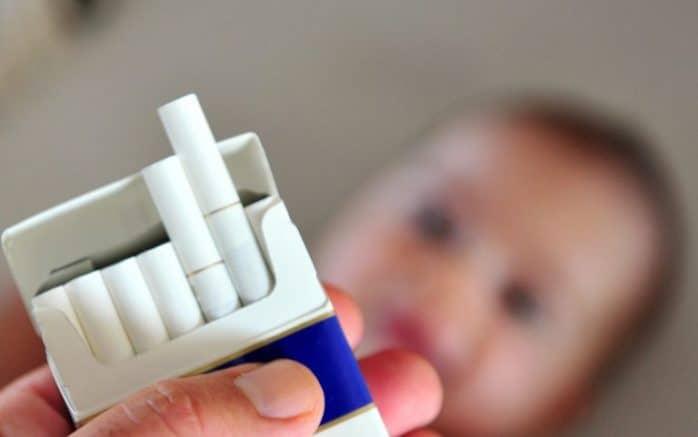 fumo in allattamento