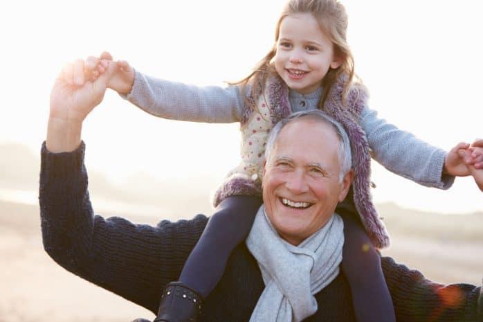 nonno nipotina