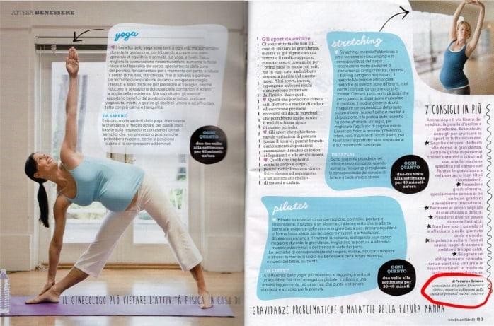fitness gravidanza 3